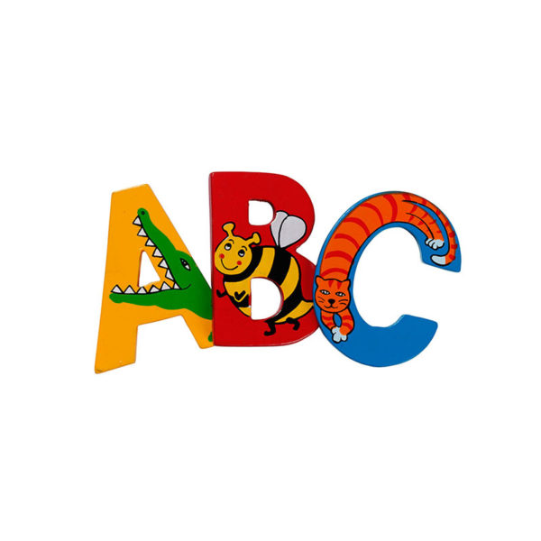 Wooden Letters - Animal