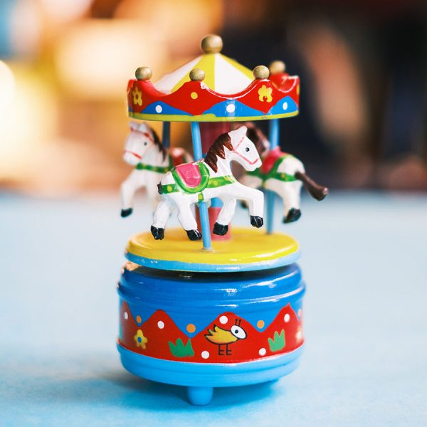 Musical Carousel - Mini Blue