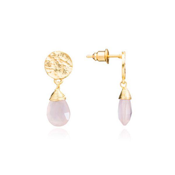 Kate Earrings Pink