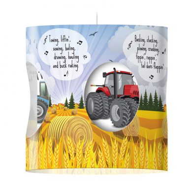 Tractor Lampshade - Hit The Diff
