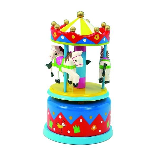 Musical Carousel - Mini Blue