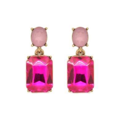 Alice Earrings - Two Pink Tones
