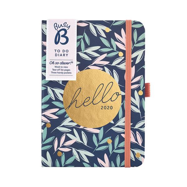 Busy B A6 Diary 2020 - Breezy Blossoms