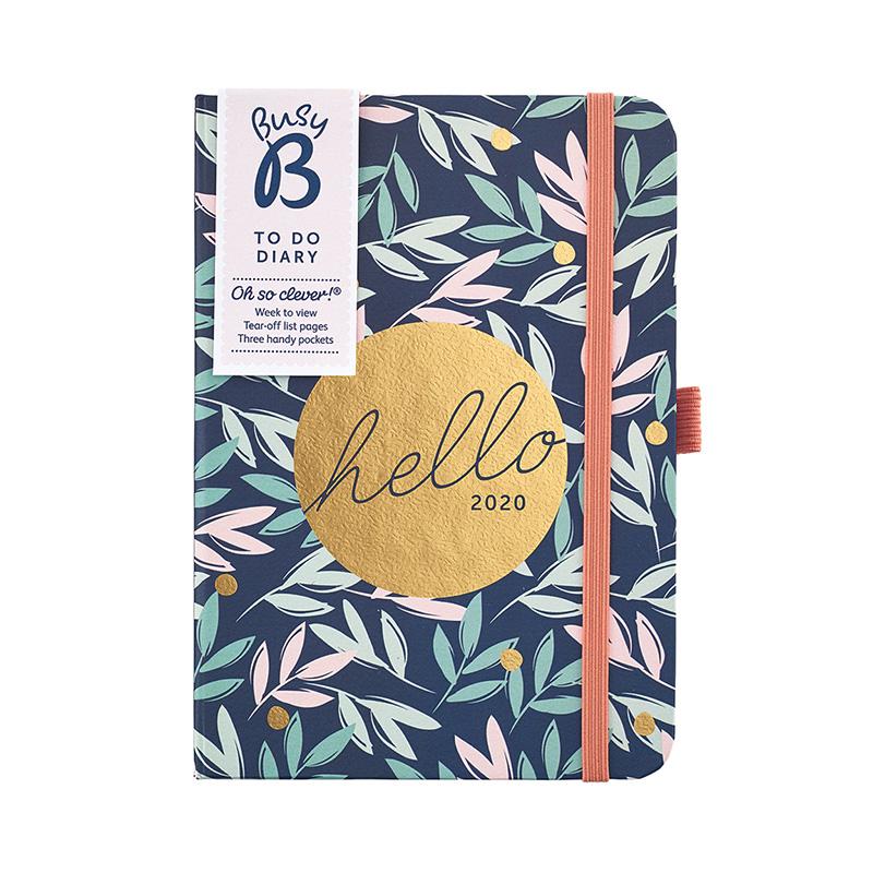 Busy B A6 Diary 2020 – Breezy Blossoms
