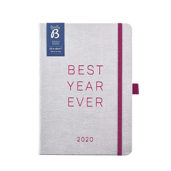 Busy B Goals Diary 2020 - Vibrant Vibes