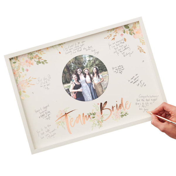 Hen Party Frame Guest Book