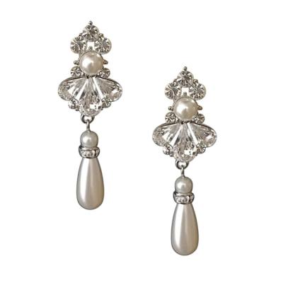 Greta Pearl Drop Earrings