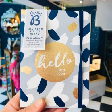 Busy B Mid Year Diary 2019/20 - A6 Size