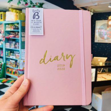Busy B Mid Year Diary 2019/20 - 17 Month