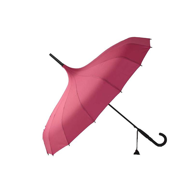 Pink Pagoda Umbrella