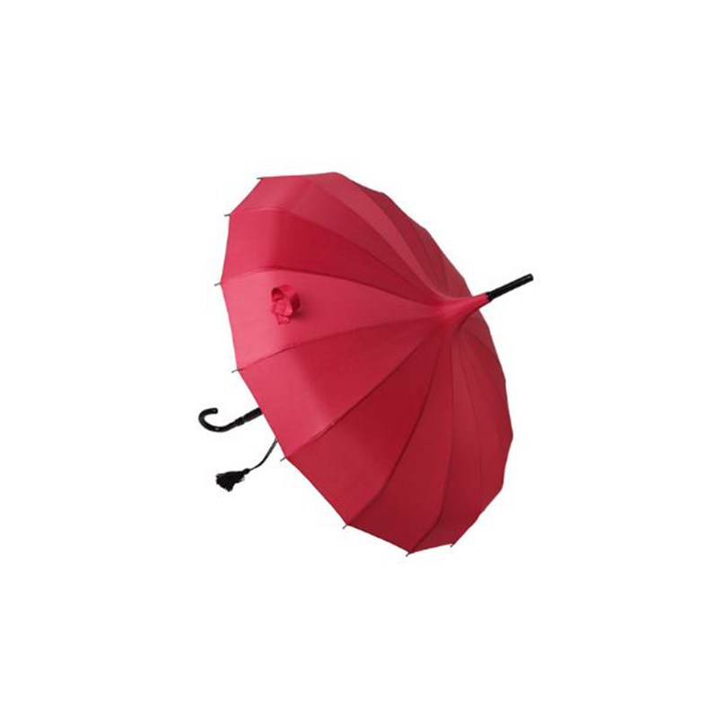 Wedding Umbrella, Red Pagoda Umbrella