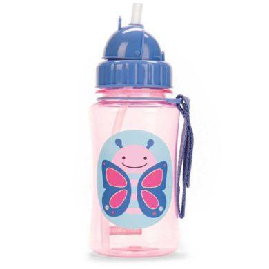 Skip Hop Straw Bottle - Butterfly