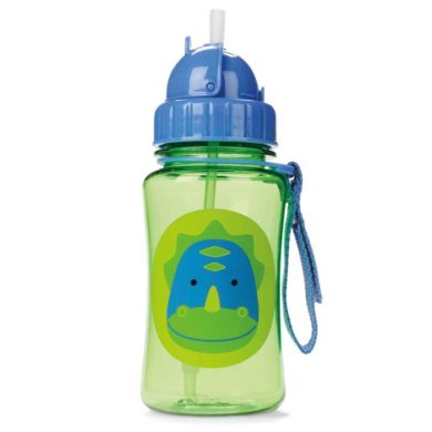 Skip Hop Straw Bottle - Dinosaur
