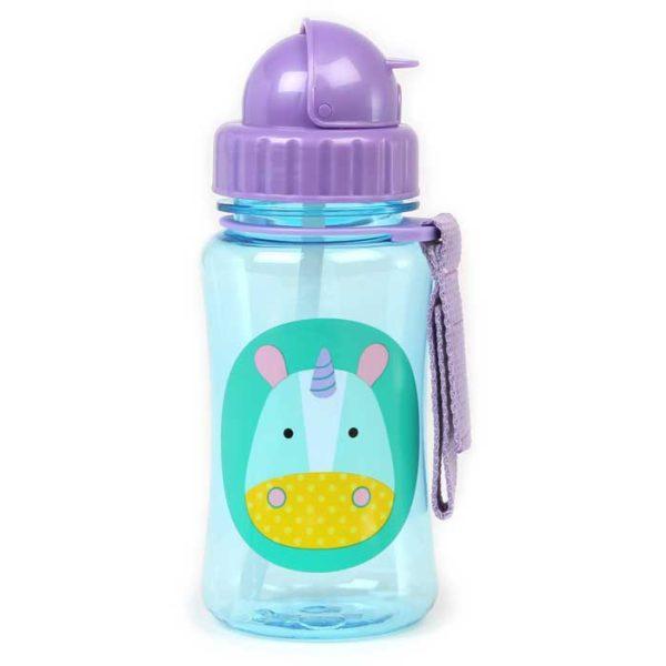 Skip Hop Straw Bottle - Unicorn