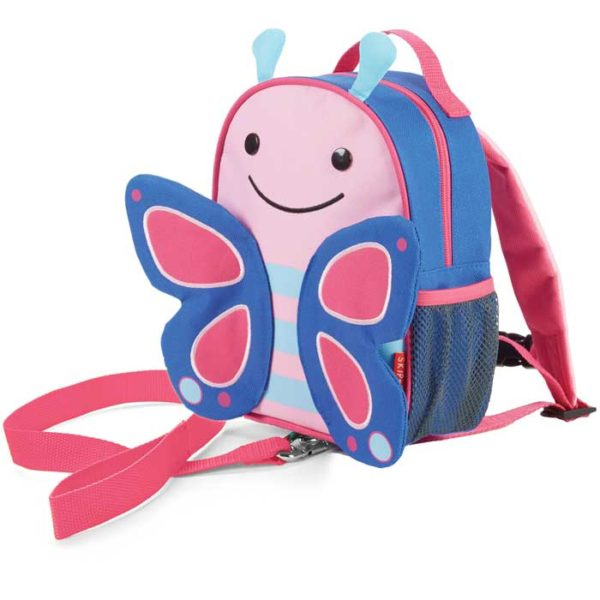 Skip Hop Mini Backpack Zoo Let with Reins - Butterfly