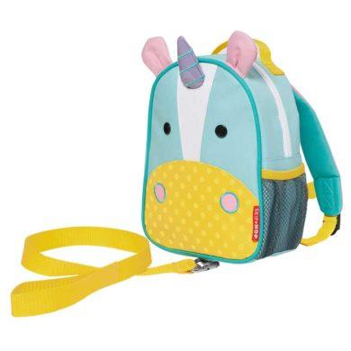Skip Hop - Mini Backpack Zoo Let with Reins - Unicorn