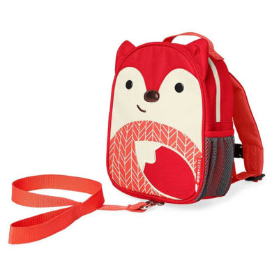Skip Hop Mini Backpack Zoo Let with Reins - Fox