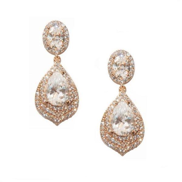 Rachel Rose Gold Drop Earring
