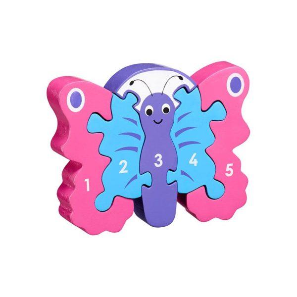 Butterfly Jigsaw 1-5