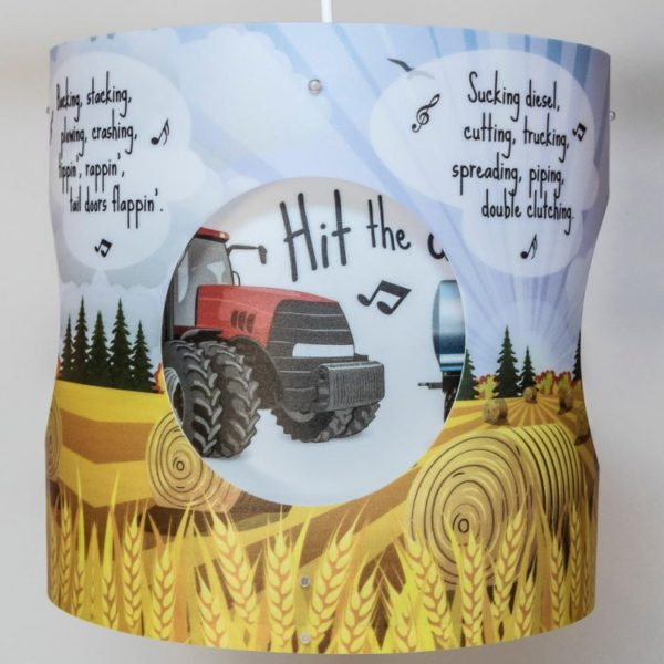 Hit the Diff - Tractor Lampshade