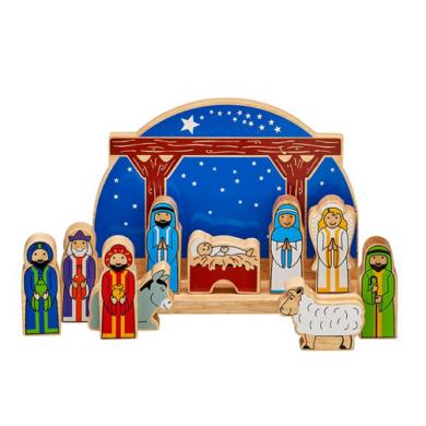Starry Night Nativity Set - Fair Trade