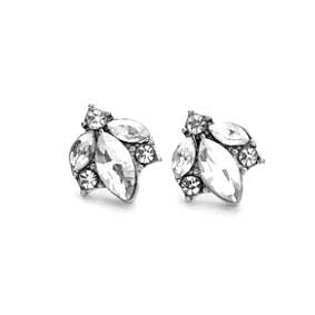 Angel Crystal Stud Earrings