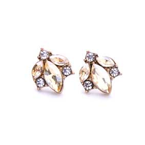 Angel Golden Stud Earrings