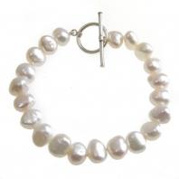 Freshwater Pearl Bracelet Natural White