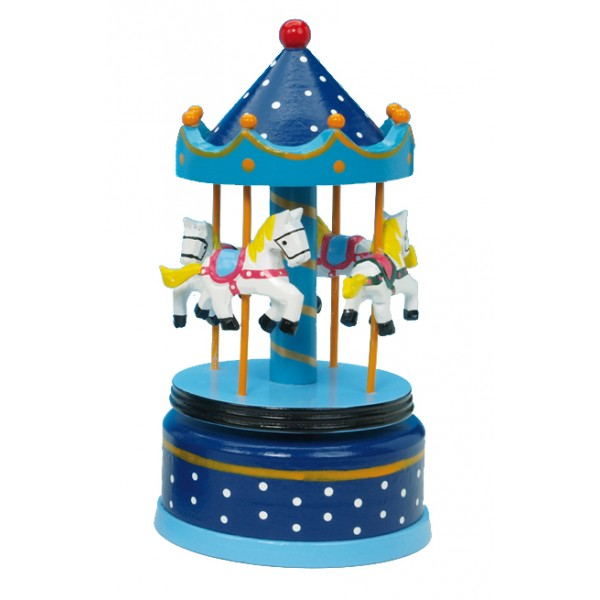 Musical Carousel - Large Blue