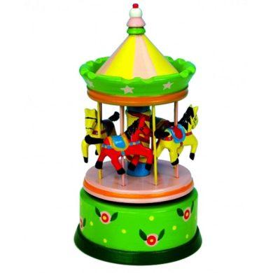 Musical Carousel - Large Green