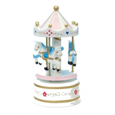 Musical Carousel - Small Pink