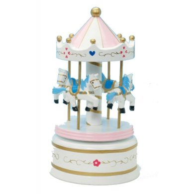 Musical Carousel Large - Pink