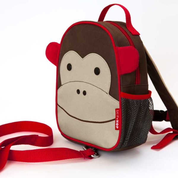 Skip Hop Mini Backpack Zoo Let with Reins - Monkey