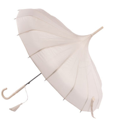 Ivory Pagoda Wedding Umbrella