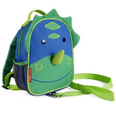 Skip Hop Mini Backpack Zoo Let with Reins - Dino