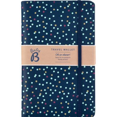 Busy B Travel Wallet - Spotty