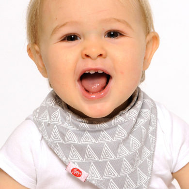 Zippy Bandana Bibs - Neutral Greys Pack
