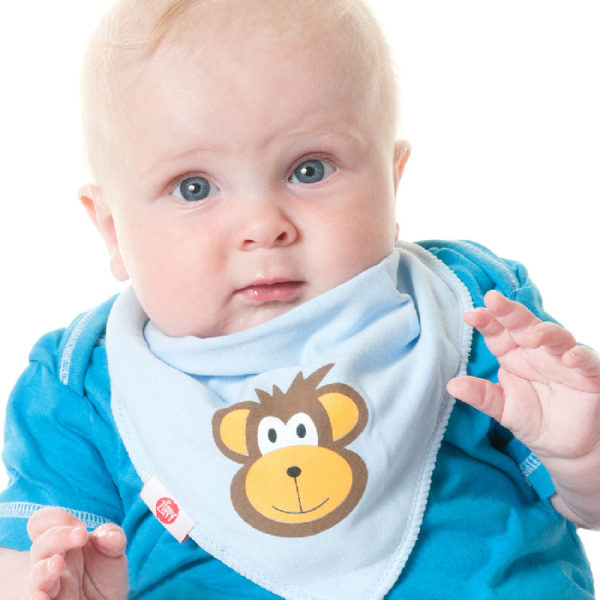 Zippy Bandana Bibs - Cute Blue Pack