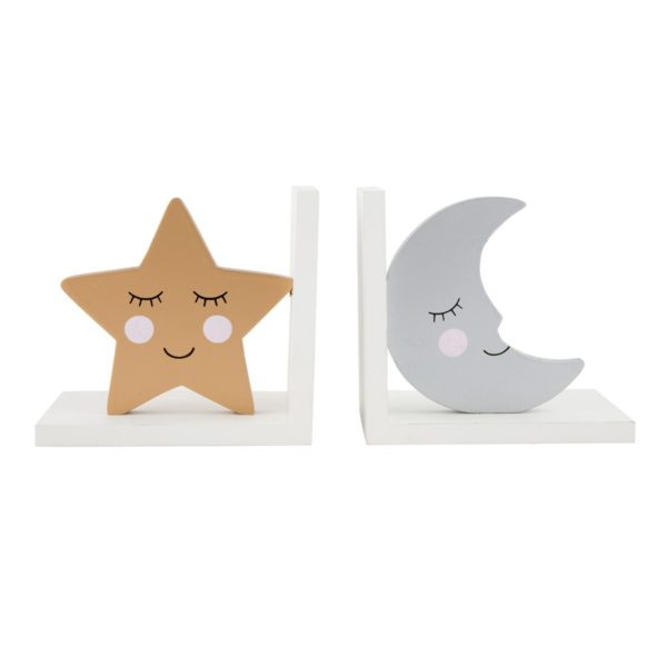 Moon & Stars Bookends