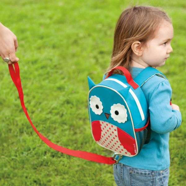Skip Hop Mini Backpack Zoo Let with Reins - Owl