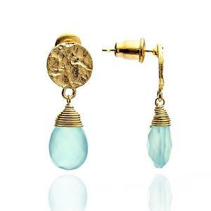 Kate Earrings Aqua