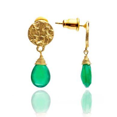 Kate Earrings Green