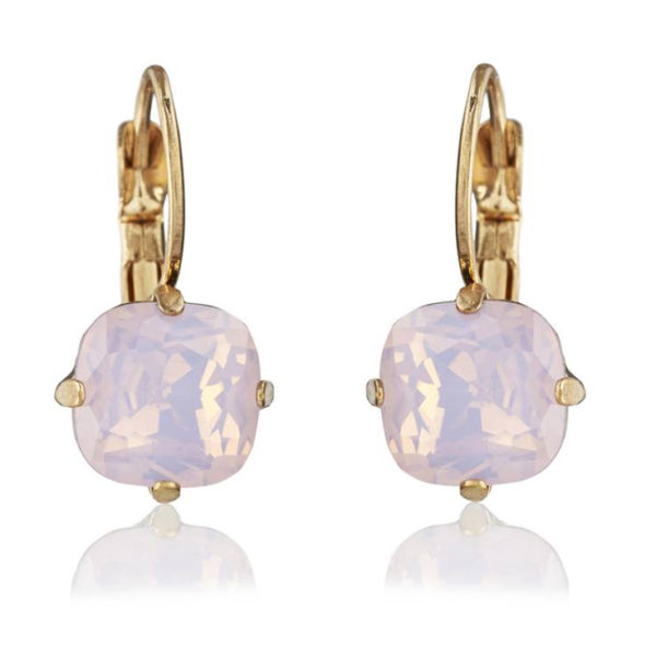 Julie Pink Opal Earrings