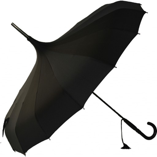 Black Pagoda Umbrella