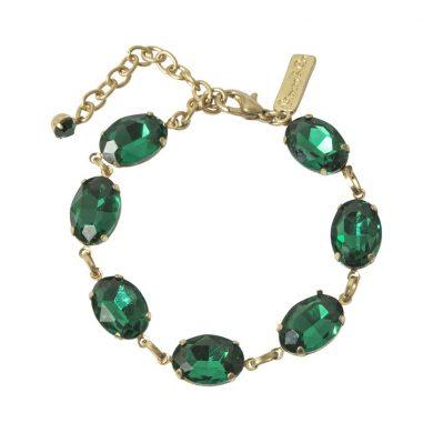 Ella Bracelet - Green