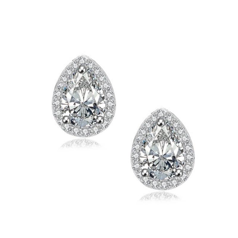 Sara Earrings – Silver