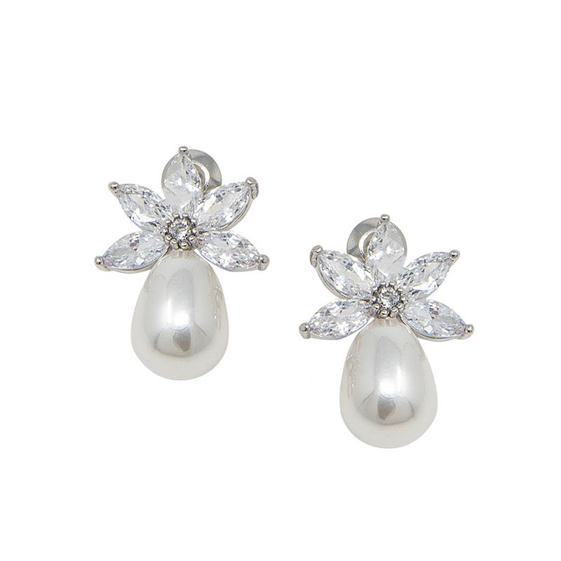 Zara Earrings – Silver