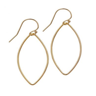 Momuse Gold Filled Oval Earrings - Medium