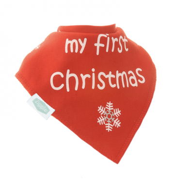Ziggle Bibs My First Christmas