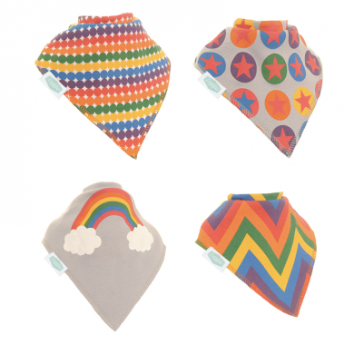 Ziggle Bibs Rainbow Colours Pack